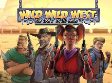 Игровой слот Wild Wild West: The Great Train Heist